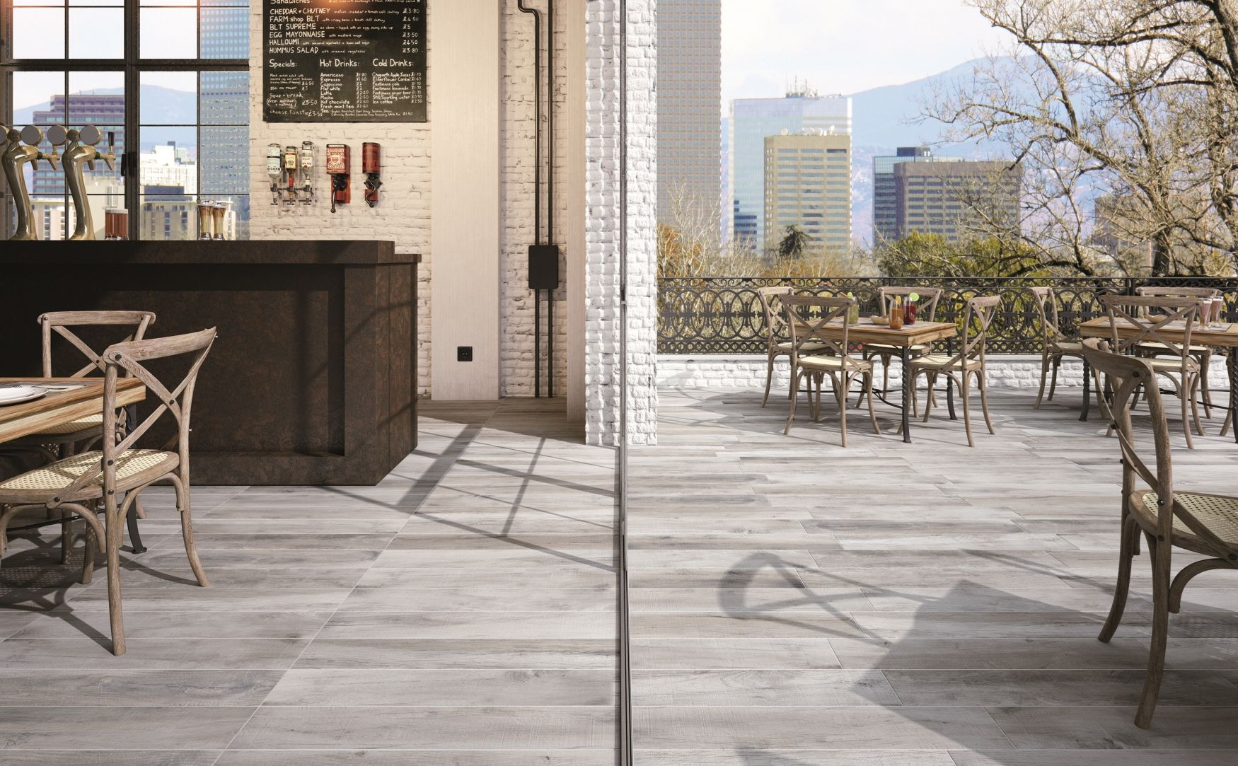 Wooden Floor Tiles And Wood Effect Porcelain Barriques By Ricchetti