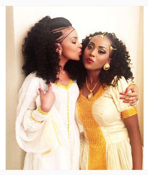 African Ethiopian Habesha Brides And Weddings African Kings - Ethiopian brides hairstyle