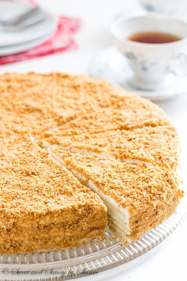 Russian Cake Napoleon Rezept Napoleonkuchen Essen Und Rezepte