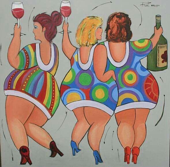 Картинки три подружки прикольные вид сзади