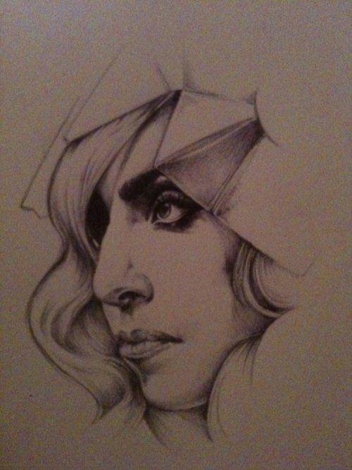 Gaga, Ballpoint pen, 2011