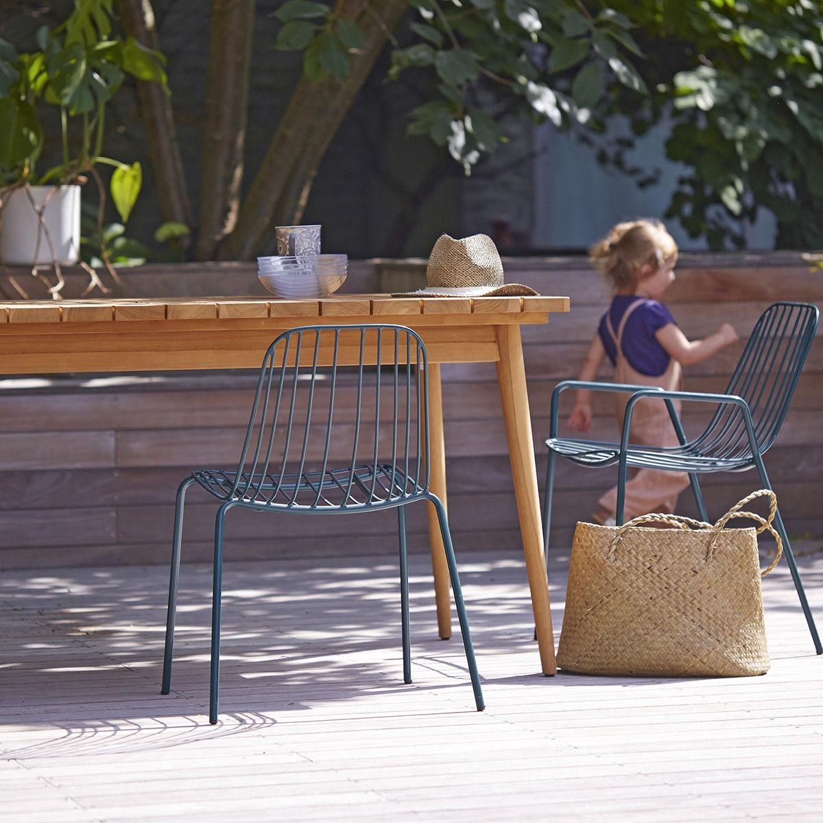 Vadim Teak Outdoor Table 180 In 2020 Outdoor Furniture Sets Twig Furniture Garden Table
