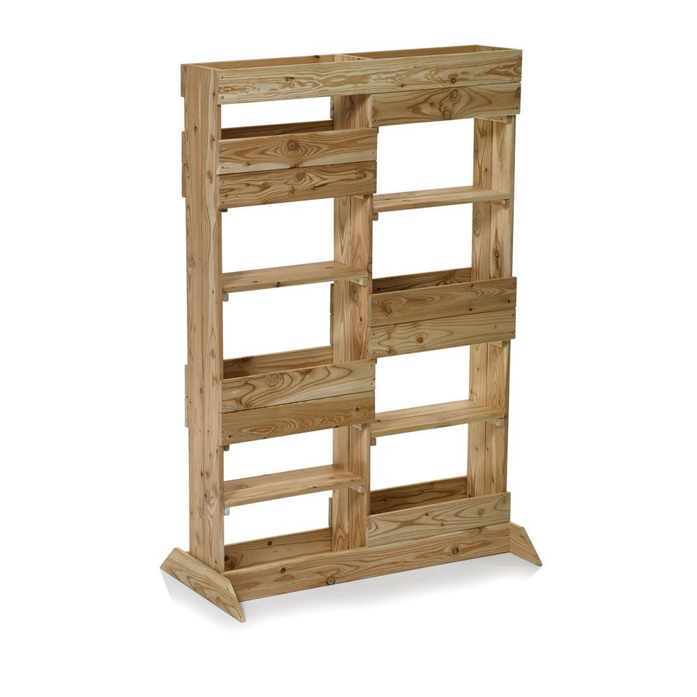 rawlinson garden products wooden plant stand vertical. Black Bedroom Furniture Sets. Home Design Ideas