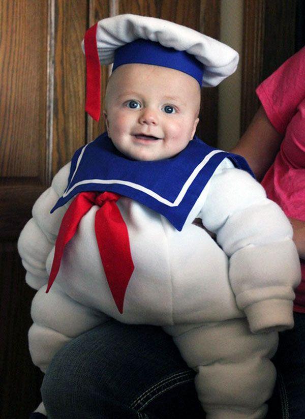 Costume da Marshmallow Man per bambini Carnevale Pinterest - homemade halloween costume ideas men
