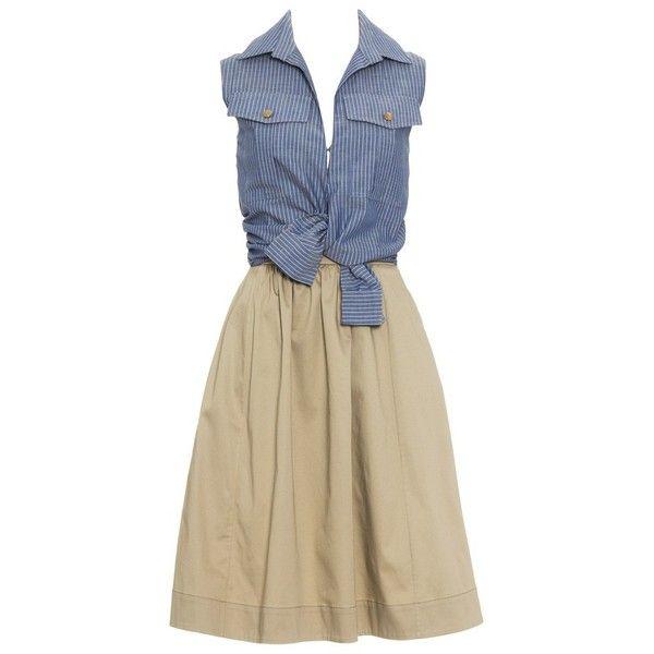 Shirt Dress ALTUZARRA ($1,380) ❤ liked on Polyvore