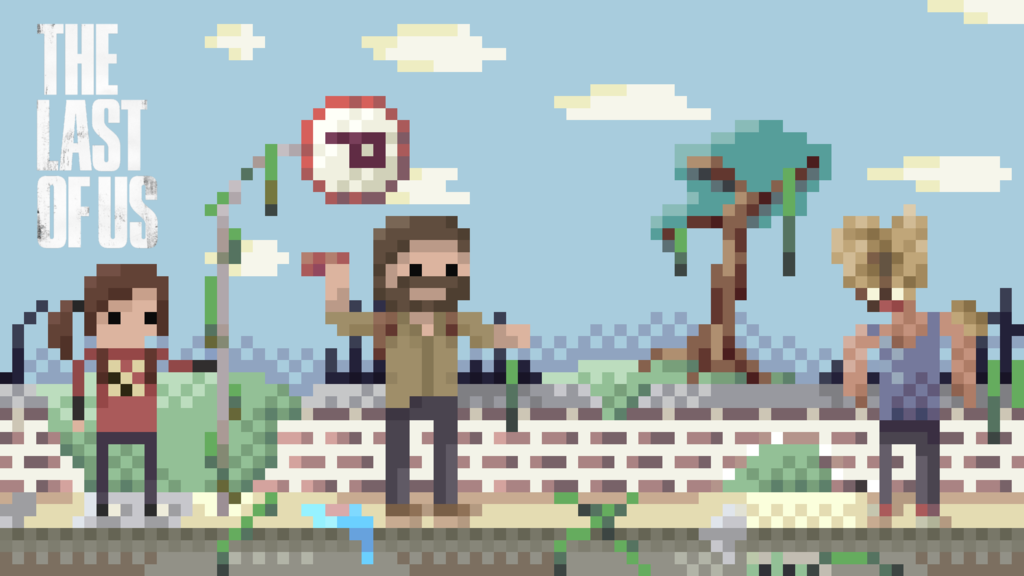 The Last Of Us Pixel Art Wallpaper By Isthiskyle On