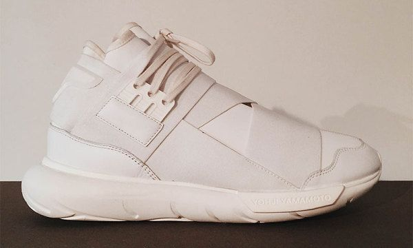 "An Exclusive First Look at the Y-3 Qasa High ""Triple White"""