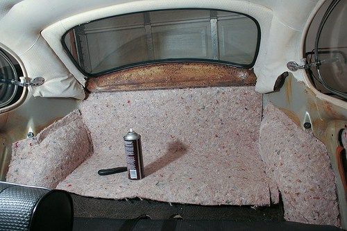 Sound Deadening Vw Beetles Volkswagen Karmann Ghia Volkswagen