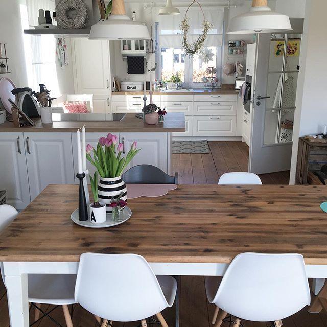 Kitchendreams- 10 Fakten über meine Küche im modernen LandhausstilRead more...