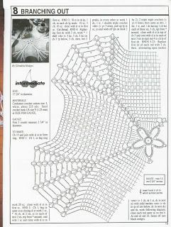 CouchCrochetCrumbs / Collections Anatolie: Crochet Patterns Doily !!