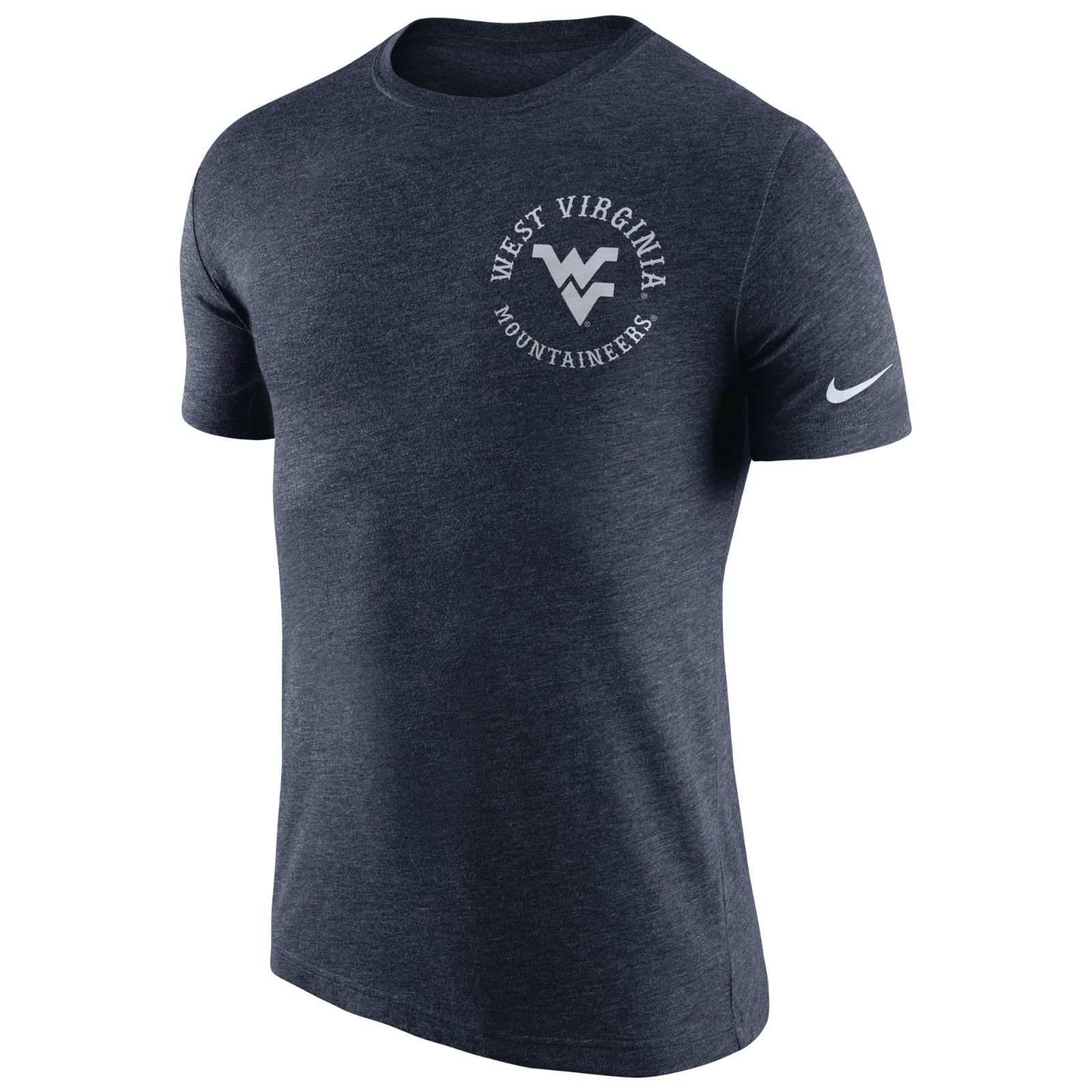 4db9a30c6 Looking for something a little less traditional? Our Nike WVU Helmet Tee  Shirt lets the modern fan represent the Mountaineers.