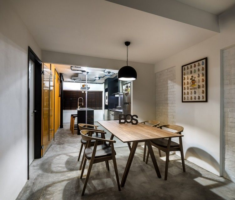 Home Design Ideas For Hdb Flats: Dining Room. Design By