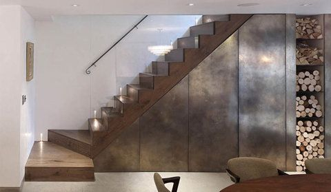 industrial / modern stairs