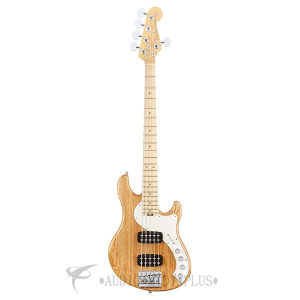 Fender American Elite Dimension V HH Maple Fingerboard 5-Strings Electric Bass Guitar Natural - 193002721
