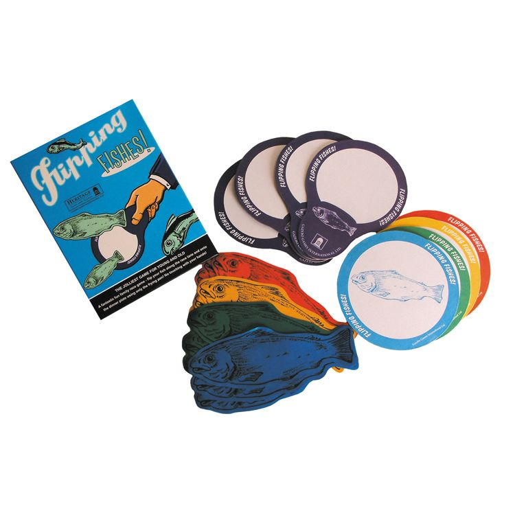 Flipping Fishes is a fun family or group game. It can be