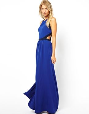 Images of Cut Out Maxi Dresses - Reikian