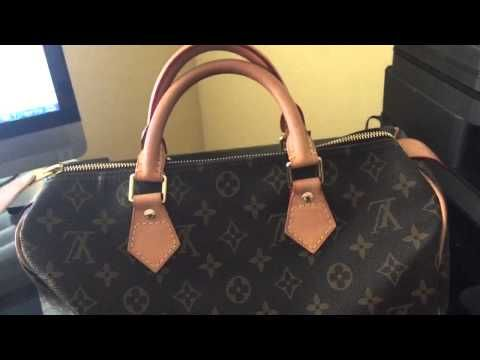 97493cfde13 Authenticating Louis Vuitton Alma Real vs Fake - YouTube