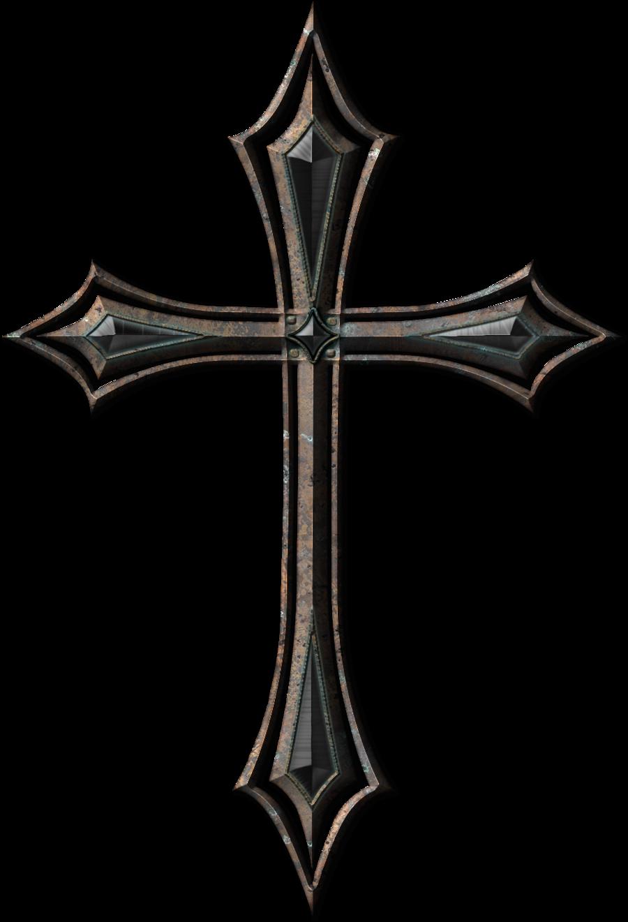 Cross Tattoo Transparent: Pin On God