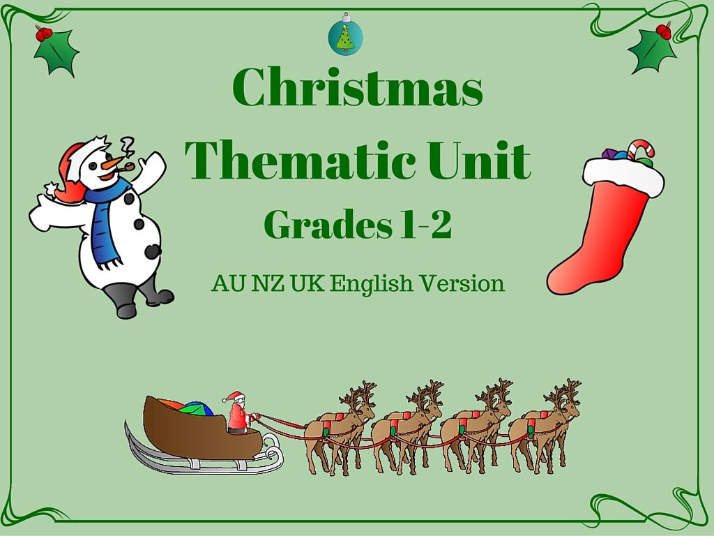 This Christmas Thematic Unit Has 39 Pages Of Christmas