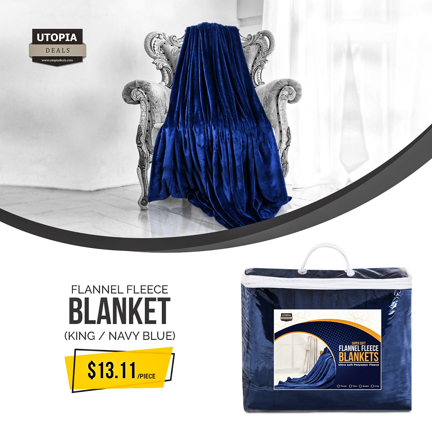 Buy Flannel Fleece Blanket On Bulk At A Competitive Price Of 13 11 Piece The Lightweight Feature With Extra Warmth Makes The B Fleece Blanket Flannel Fleece