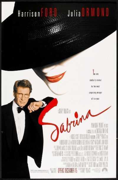Details About Sabrina 1995 Original Rolled 27x40 Movie Poster