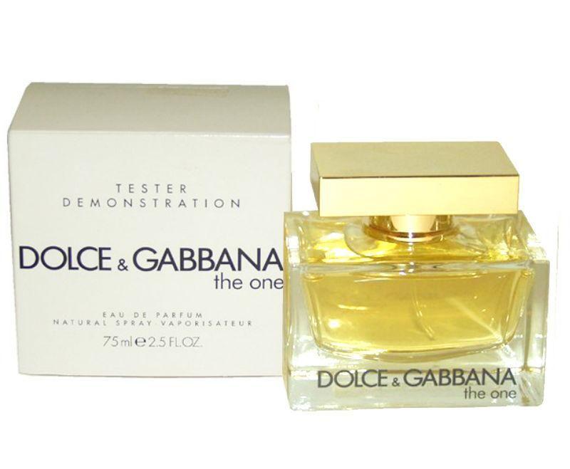 The One For Women By Dolce Gabbana Eau De Parfum Spray 2 5 Oz Tester In 2020 Eau De Parfum Floral Scent Dolce And Gabbana