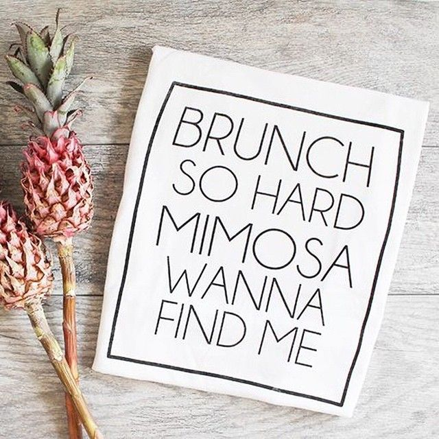 Brunch so hard #brunch #sundayfunday #qotd