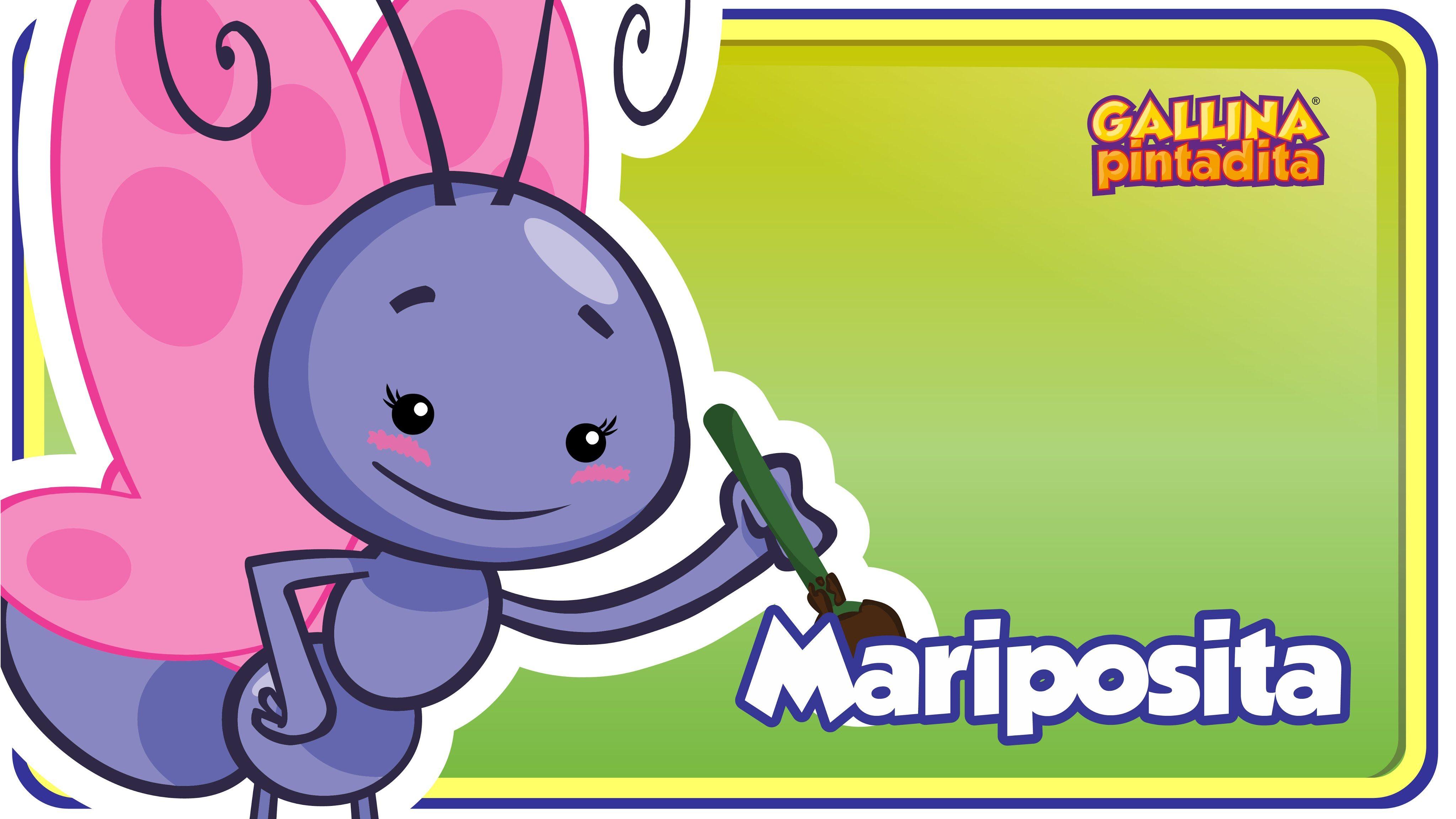 Mariposita - video de canción infantil para bebe y niños