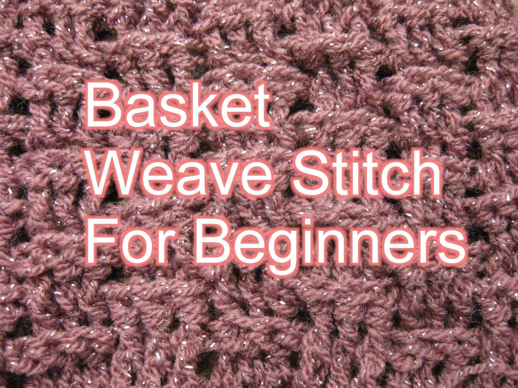Basket weave Stitch Crochet - Slow Motion Crochet (+playlist ...