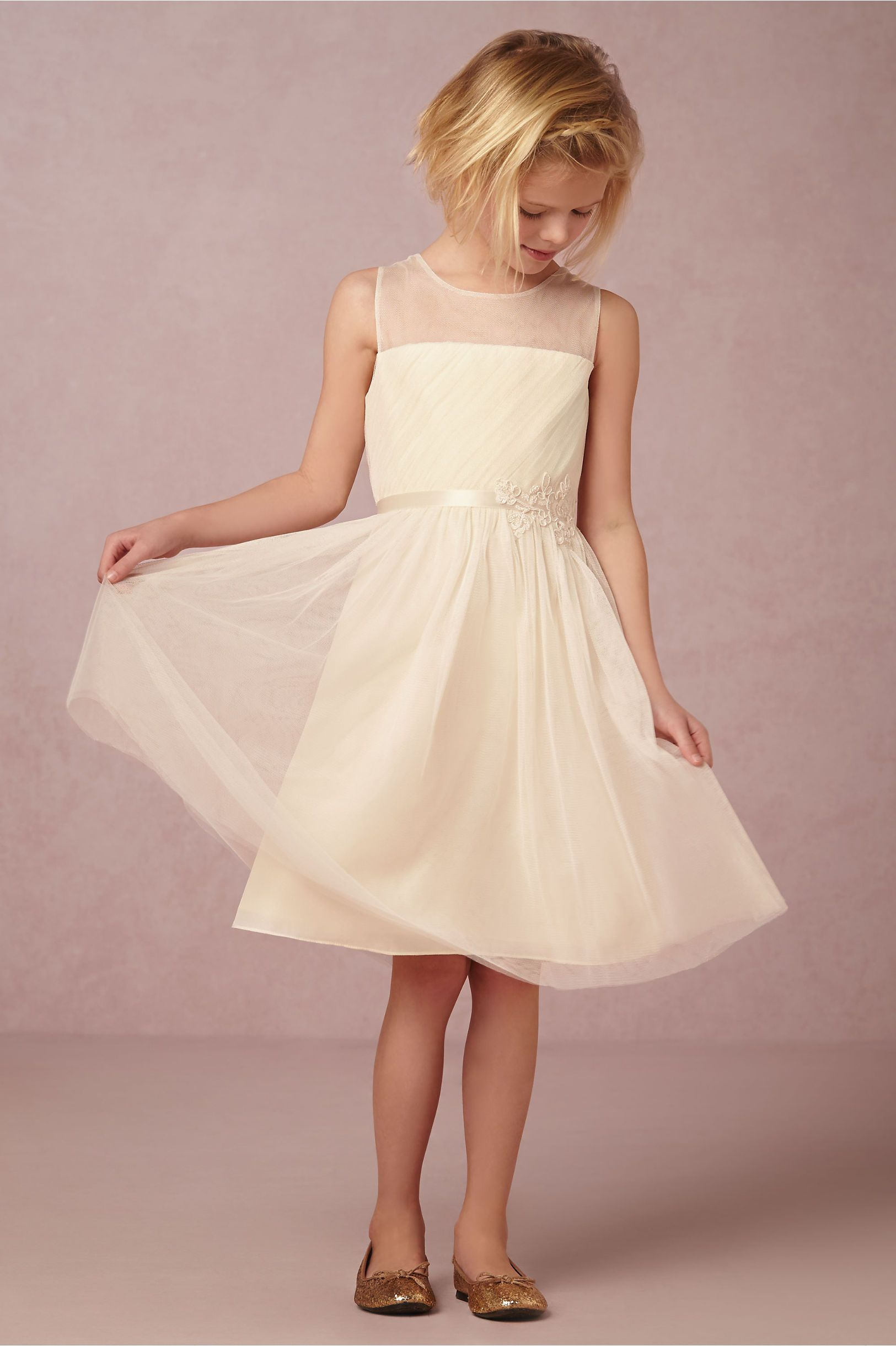 Elodie Flower Girl Dress from BHLDN | Flower Girls & Ring Bearers ...