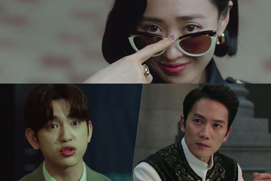 """Watch: Ji Sung And GOT7's Jinyoung Clash Over Opinions On Justice As Kim Min Jung Goes On The Hunt In """"The Devil Judge"""""""