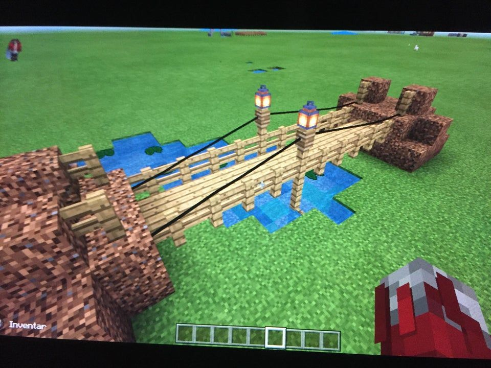 What Do You Guys Think About My Bridge   Minecraft