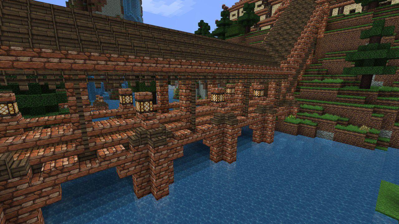 japanese bridge minecraft ideasbridges - Minecraft Japanese Bridge