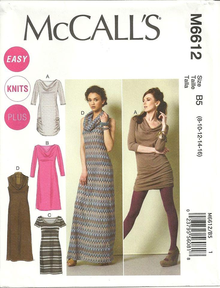 MCCALLS 6612 - Google Search | PATTERNS - MCCALL\'S DRESSES | Pinterest