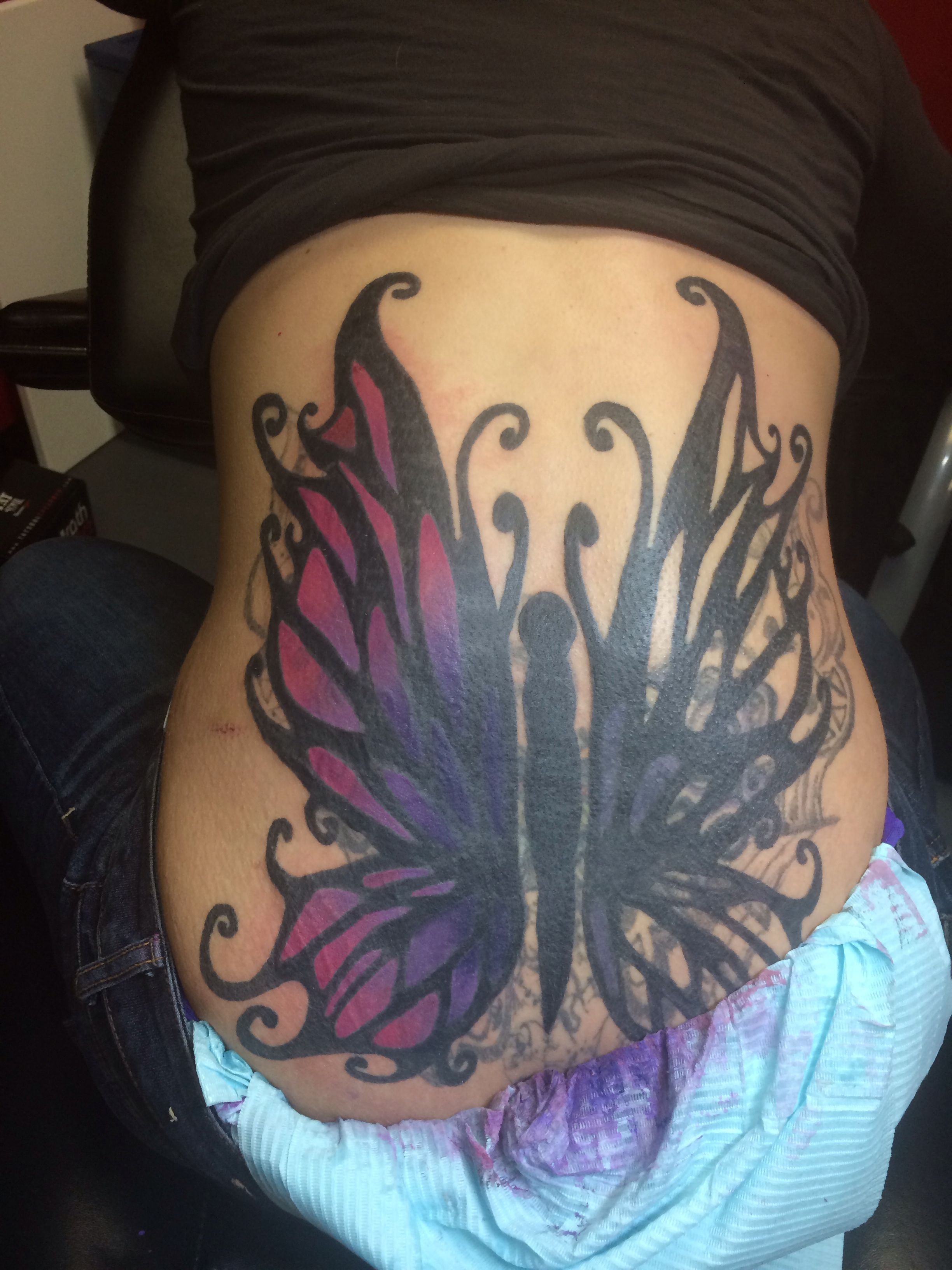3rd session cover up