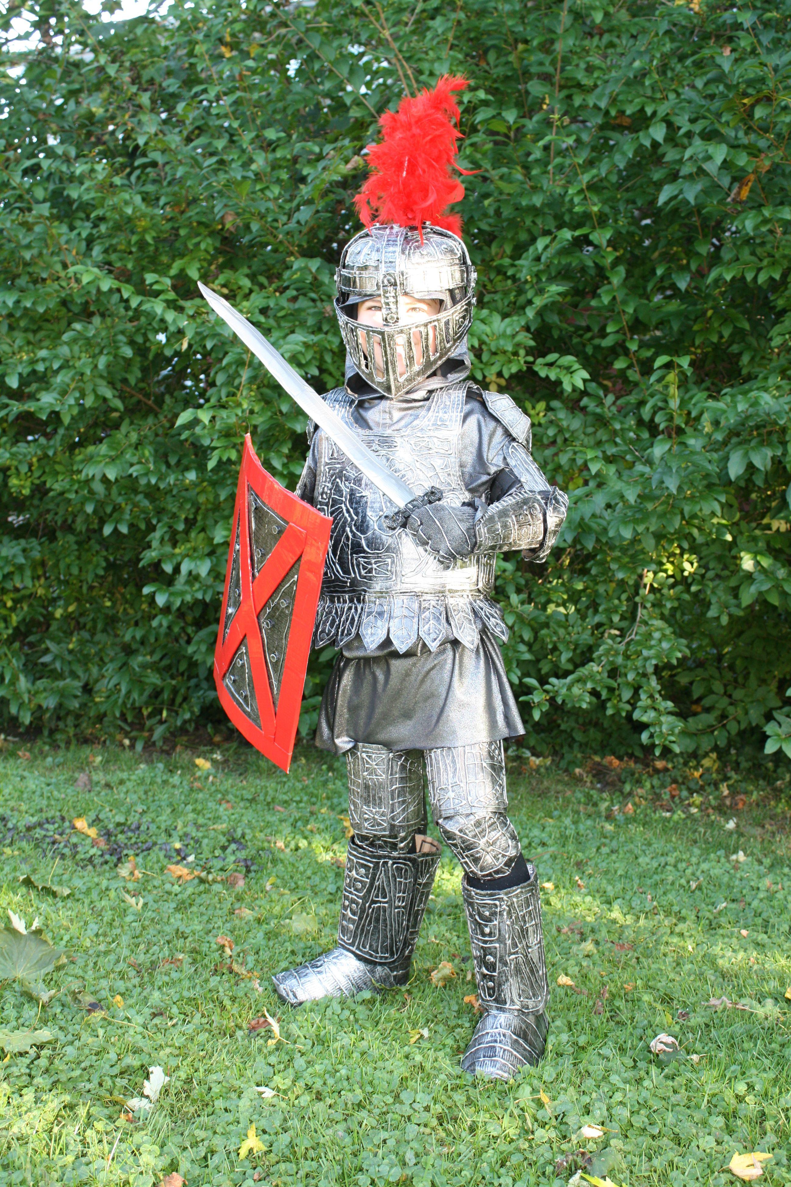 Knight Costume | Knight costume for kids, Diy knight ...