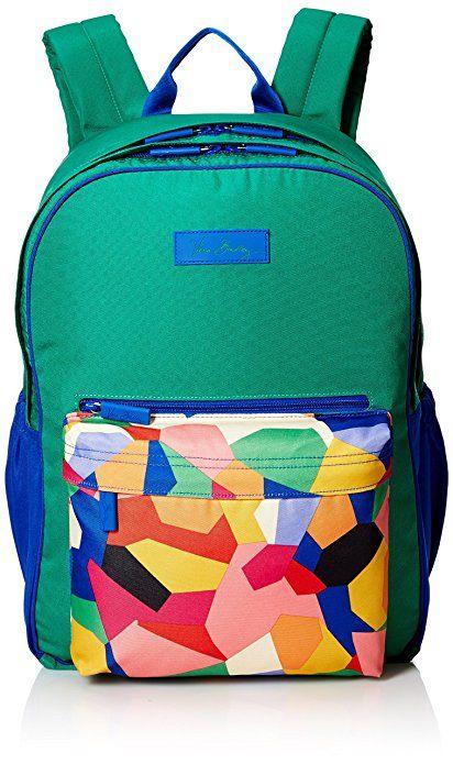 bcda9c26a4 Vera Bradley Women s Large Colorblock Backpack