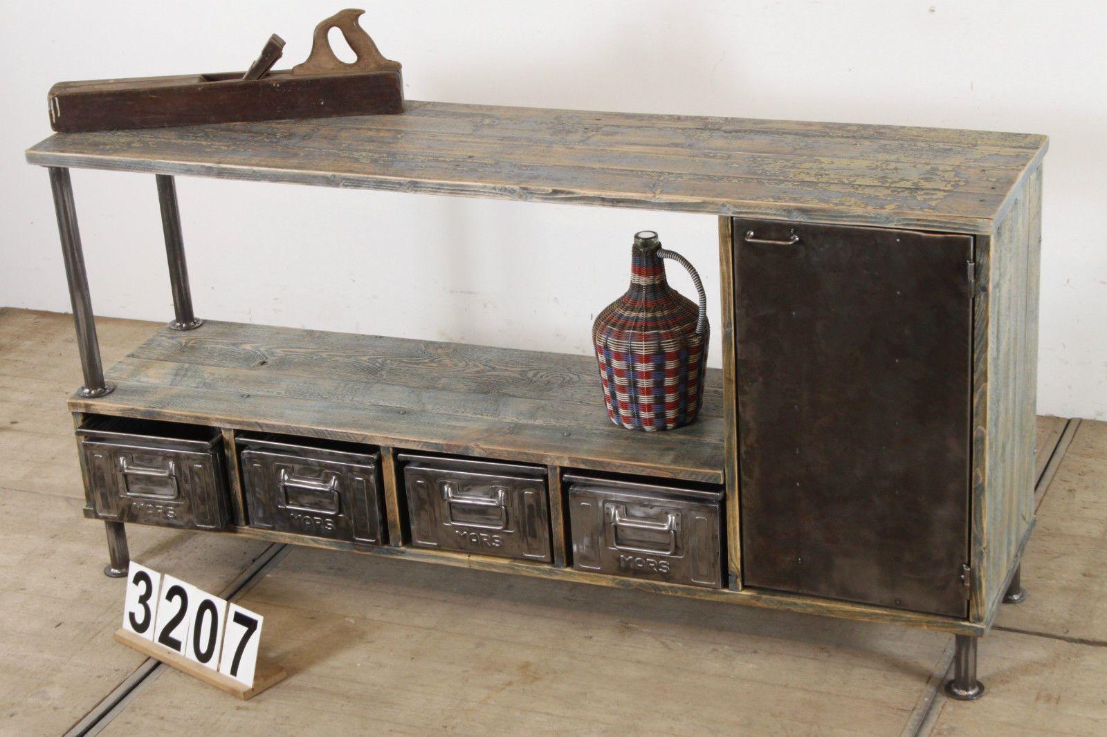 Anrichte Tv Mobel Regal Vintage Loft Industrie Nr3207 In Mobel Wohnen Tv Mobel Vintage Loft Diy Mobel Regal