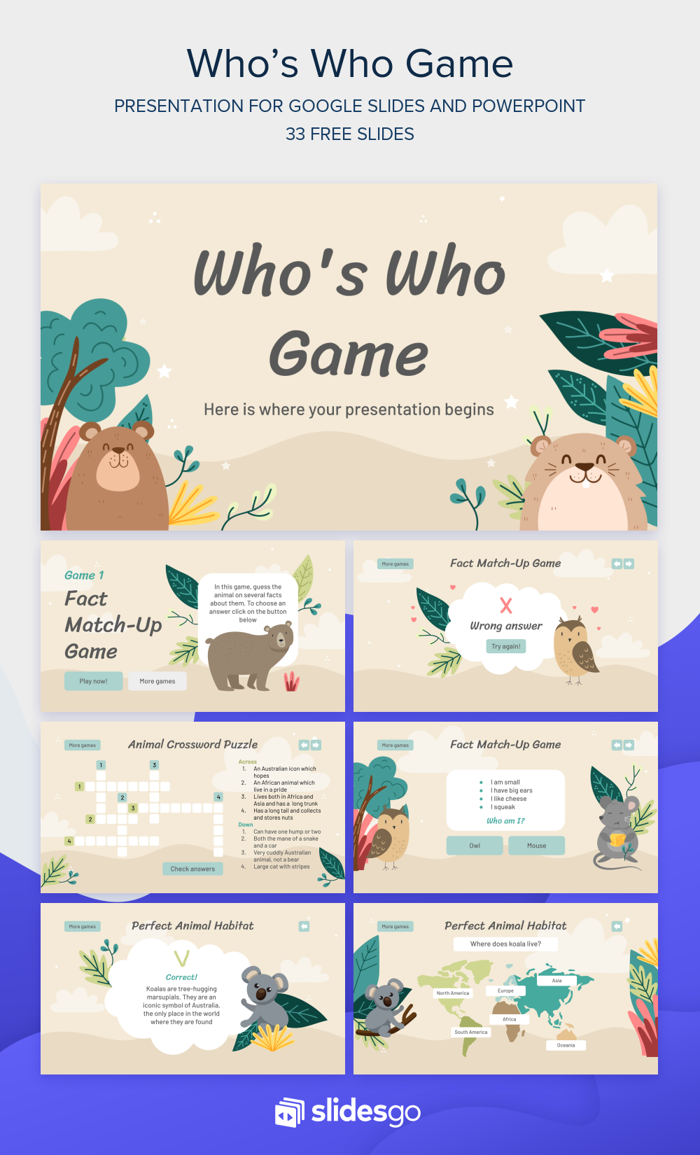 Create A Fun Who S Who Game With This Google Slides Theme And Powerpoi Free Powerpoint Presentations Powerpoint Design Templates Powerpoint Presentation Design