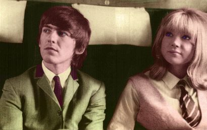 George and Patty- A Hard Days Night