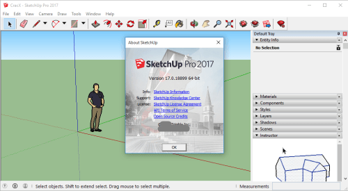 free cracked software sketchup pro 2018