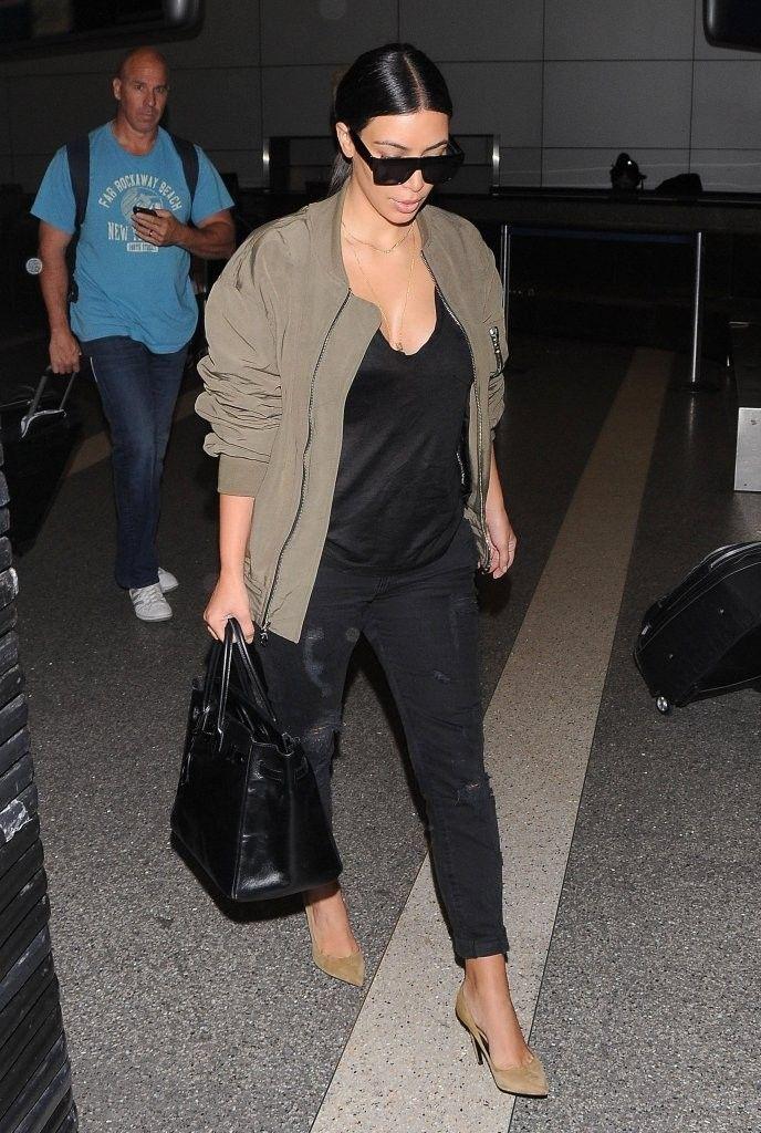 Kim Kardashian at LAX Airport 19.6.2014.
