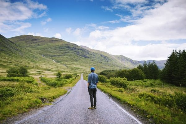 There is no ''wrong road'' as long as you are moving forward