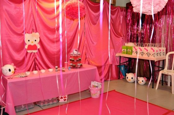 Hello Kitty Themed Party Themed parties Hello kitty and Kitty