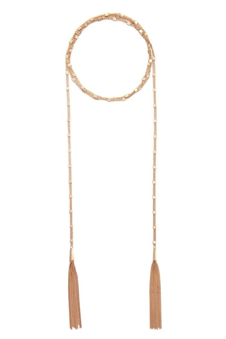 Tassel Necklace #accessorize