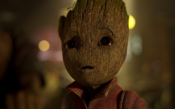 Baby Groot Guardians Of The Galaxy Wallpaper 4k With Images