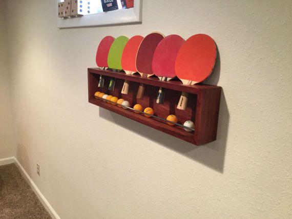Ping Pong Paddle Holder Ping Pong Rack In 2019 Ping