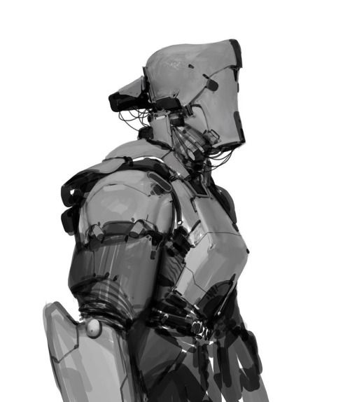 Mech by Anthony Jones.More Characters here.