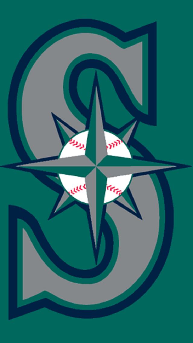 Seattle Mariners 1994 Seattle Mariners Logo Mlb Wallpaper Baseball Wallpaper