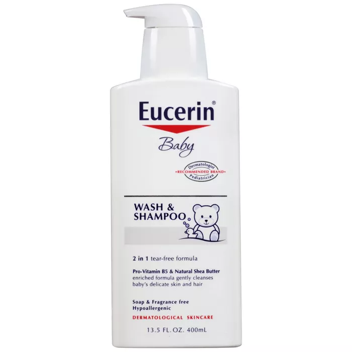 Eucerin Baby Wash Shampoo 13 5 Fl Oz In 2020 Fragrance Free Products Eucerin Baby Wash